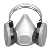 Sperian 14150097 Freedom (NIOSH) Half Mask Disposable P100 Respirator - Medium