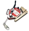 Miller MR130GB-Z7/130FT MightEvac Self-Retracting Lifeline With Hoist - 130' Unit With Galvanized Wire Rope And Mounting Bracket
