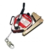 Miller MR50GB-Z7/50FT MightEvac Self-Retracting Lifeline With Hoist - 50' Unit With Galvanized Wire Rope And Mounting Bracket
