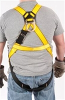 MSA 10072480 Workman Harness - XL With Qwik-Fit Chest And Leg Buckles And Back Attach