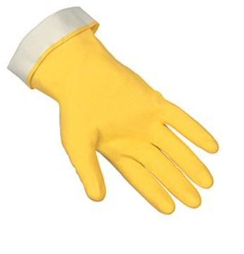 MCR 5280 Latex Flock Lined Glove Straight Cuff