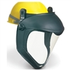 Uvex S8515 Bionic Faceshield With Hard Hat Adapter (No Suspension) - Anti-Fog, Hardcoat