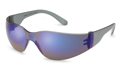 Gateway 369M Starlite-SM Safety Glasses - Blue Mirror Lens With Gray Temple