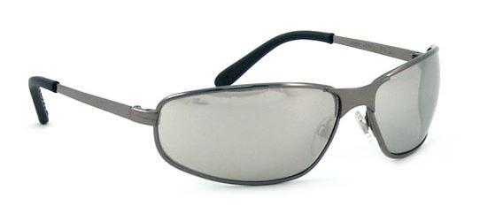 uvex s2453 tomcat metal frame safety glasses silver mirror lens with hardcoat coating