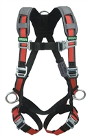 MSA 10105942 Evotech Full Body Harness - Standard Size With Back And Hips D-Ring And Shoulder Padding