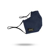 Ironwear 150FR-N Navy FR Face Mask With Ear Loops