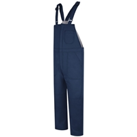 Bulwark BLC8 Navy Flame-Resistant Deluxe Insulated Bib Overall