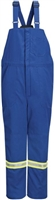 Bulwark BNNT Royal Blue Deluxe Insulated Nomex IIIA Bib Overall With Reflective Trim