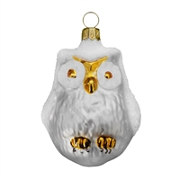 White Snow Owl  3.2""