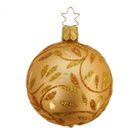 Inge Glas Ball Inka Gold Delights 6cm