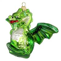 "Exclusive Green Dragon  5""W"