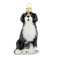 Black White Dog  3.5""