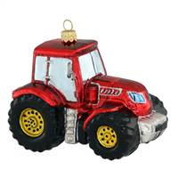 "Large Red Tractor  4.5"" x 3.5"""