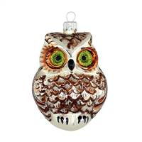 Silver & Brown Owl  4""