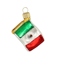 "Mini Flag Mexico  1.7""W"