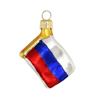"Mini Flag Russia  1.7""W"