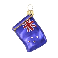 "Mini Flag New Zealand  1.7""W"