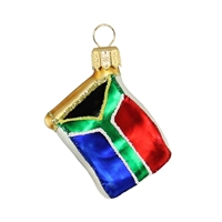 "Mini Flag South Africa  1.7""W"