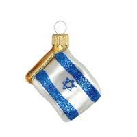 Mini Flag Israel  1.7""