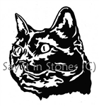 Siamese Cat memorial graphic