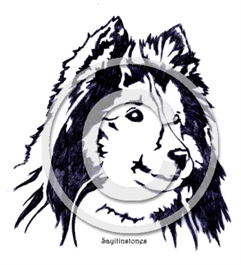 Shetland Sheepdog memorial graphic