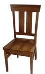 Oak Monaco Dining Room Chair, Without Arms