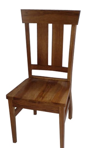 Oak Monaco Dining Room Chair Without Arms