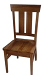 Quarter Sawn Oak Monaco Dining Room Chair, Without Arms