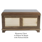 Mixed Wood Harmony Cedar Chest