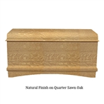 Quarter Sawn Oak Memory Chest