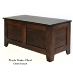 Maple Shaker Chest