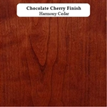 Chocolate Cherry Wood Sample