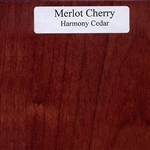 Merlot Cherry Wood Sample