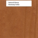Natural Cherry Wood Sample