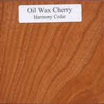 Oil and Wax Cherry Wood Sample