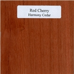 Red Cherry Wood Sample