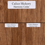 Calico Hickory Wood Samples
