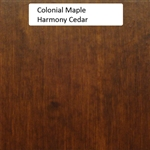 Colonial Maple Wood Sample