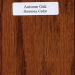 Autumn Oak Wood Sample