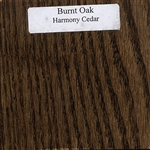 Burnt Oak Wood Sample