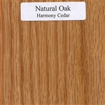 Natural Oak Wood Sample