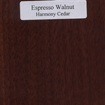Espresso Walnut Wood Sample