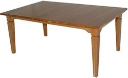 "100"" x 46"" Hickory Harvest Dining Room Table"