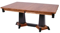 "100"" x 42"" Quarter Sawn Oak Turin Dining Room Table"