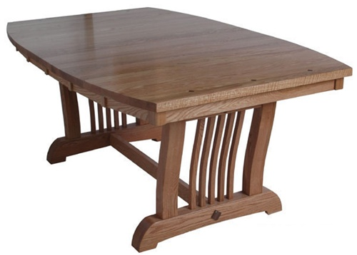 54 x 54 hickory western dining room table for Dining room table 54 x 54