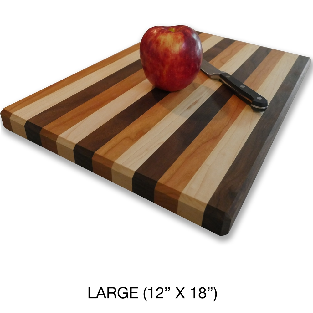 Large Wood Cutting Board Part - 39: Quality Amish Hand Made Butcher Block End-grain Cutting Board.