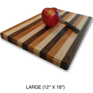 Quality Amish hand made Butcher block end-grain cutting board.