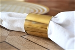 Gold Napkin Ring Set