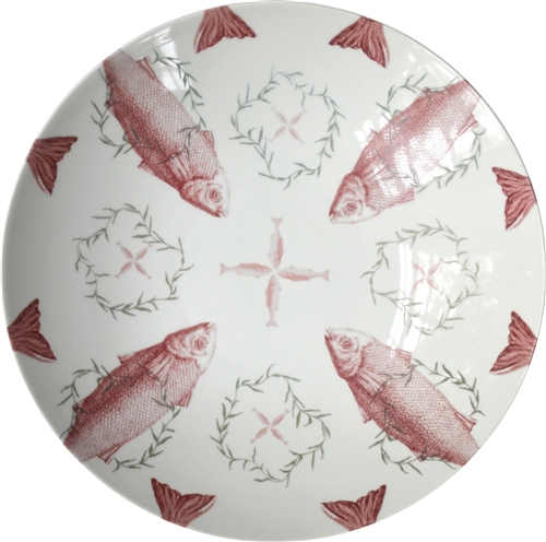 Snappy Large Porcelain Coupe Serving Bowl