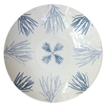 Large Porcelain Coupe Serving Bowl, Flora